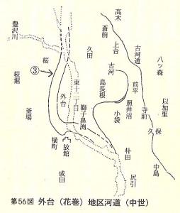 外台河道(中世)