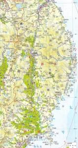 北上川周辺図