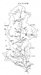 北上川水系図