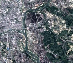 北上川河道
