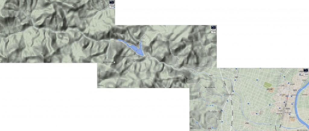 葛丸川全図