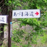 あづま海道道標