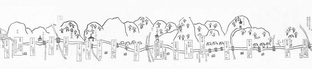 仁兵衛堰(嶋村部分)